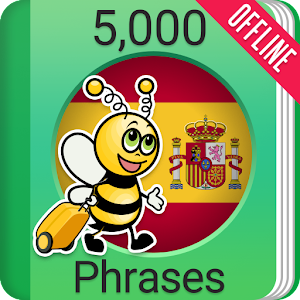 Learn Spanish Phrasebook - 5,000 Phrases