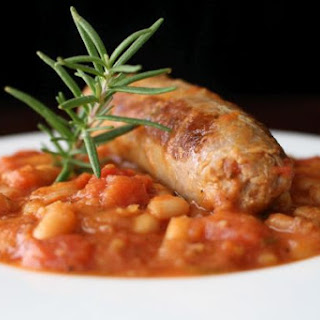 Italian Ucceletto Style Cannellini Beans and Sausage