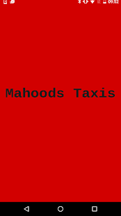 Mahoods Taxis - screenshot