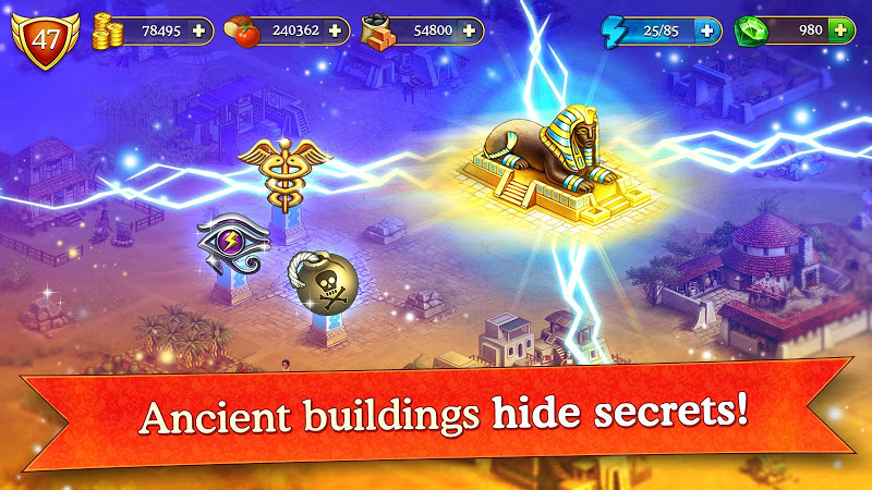 Cradle of Empires Match-3 Game Screenshot 3