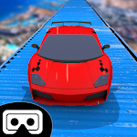 VR Impossible Car Track Icon