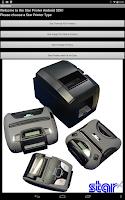 Screenshot of Star Micronics Printer Demo