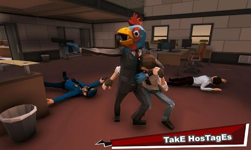 Bank Robbery Gangster Squad: City Battle Royale