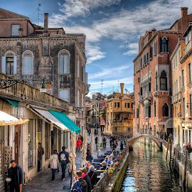 Venice by Cristian Peša - City,  Street & Park  Street Scenes ( venice )