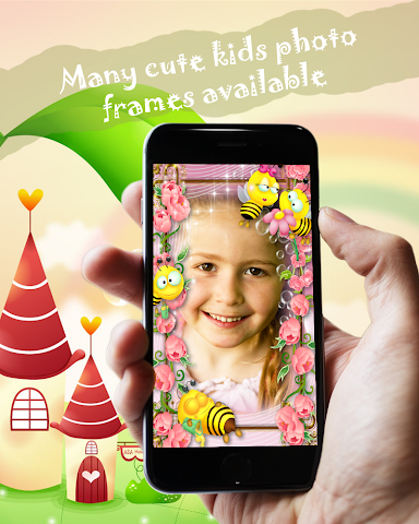 android Kids Frames Photo Editor Screenshot 1