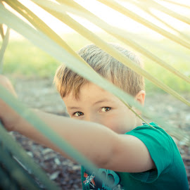 The Eyes Have it by Skye Harper - Babies & Children Child Portraits ( colour, color, sunset, golden hour, eyes,  )