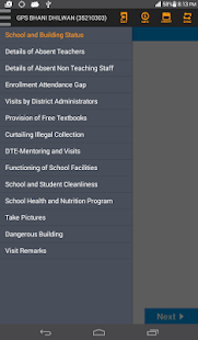 PSSP School Monitoring - screenshot
