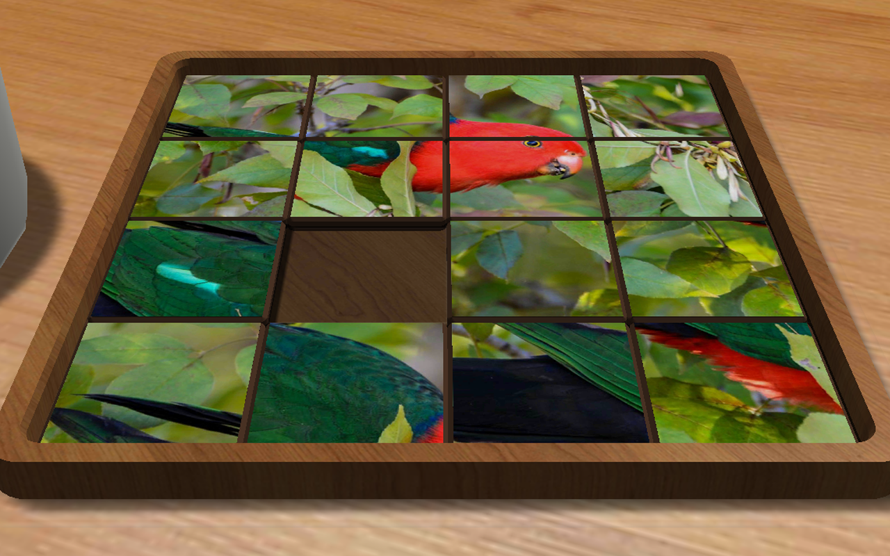 Sliding Blocks Wild Animals Screenshot 0