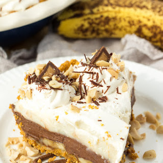 Peanut Butter Chocolate Whipped Cream Pie Recipes