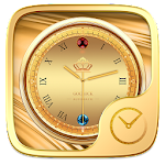 Gilt GO Clock Theme Icon