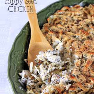Poppy Seed Chicken With Noodles Recipes