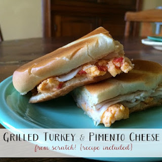Grilled Turkey and Pimento Cheese Sandwich