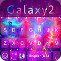 Galaxy2 Emoji iKeyboard Theme APK for Lenovo