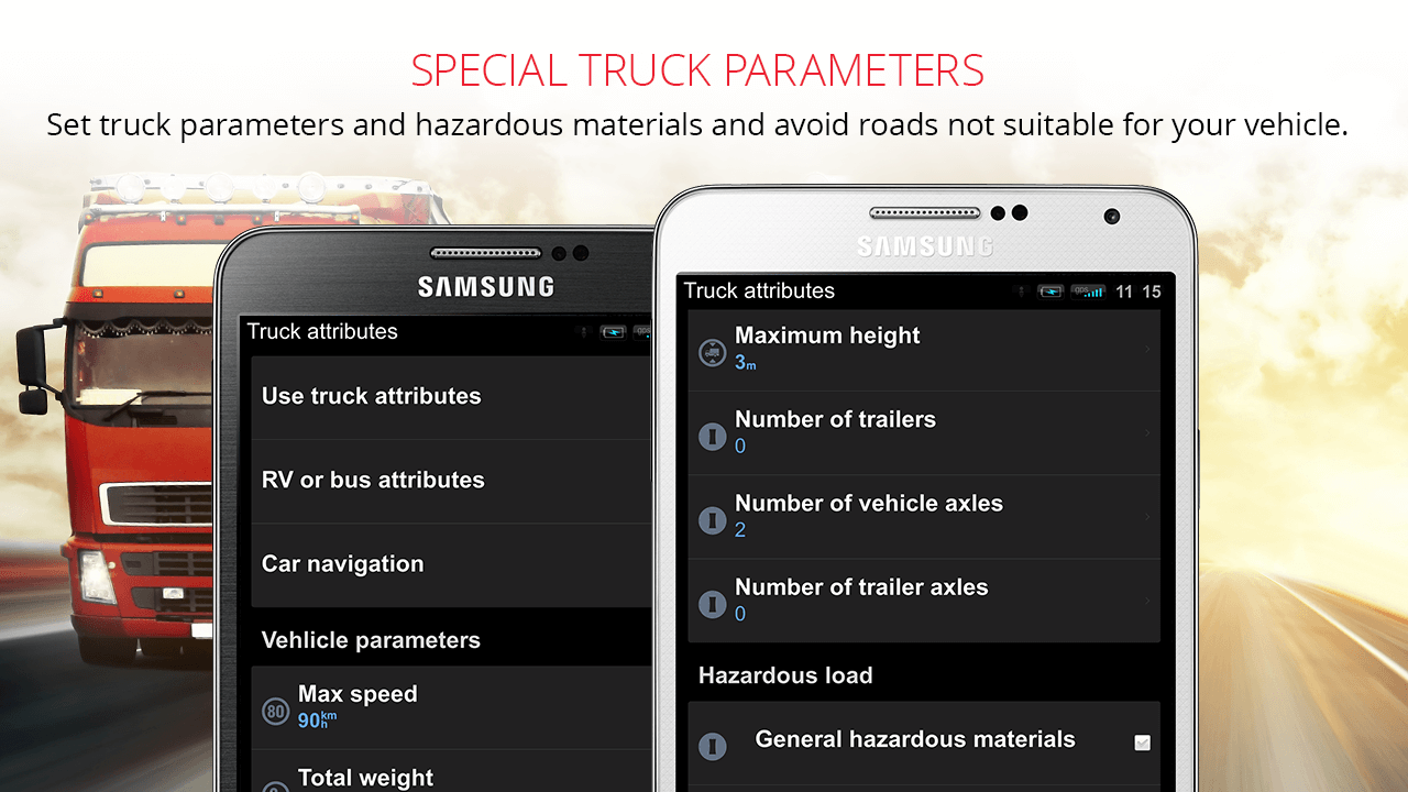 Sygic Truck GPS Navigation Screenshot 9