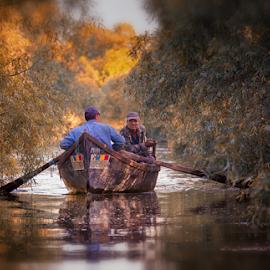 Delta Dunarii by Alecu Gabriel - Landscapes Travel ( delta )