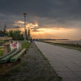 by Milos Vasic - City,  Street & Park  Street Scenes