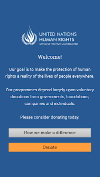 UN Human Rights APK screenshot thumbnail 1
