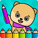 Coloring book for kids Icon