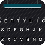 Black Twill for Kika Keyboard 1.6 Apk