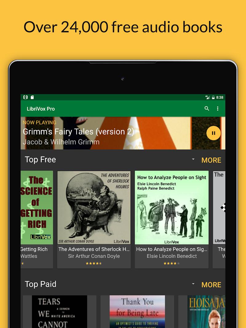 LibriVox Audio Books Supporter Screenshot 8