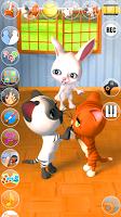 Screenshot of Talking 3 Friends Cats & Bunny