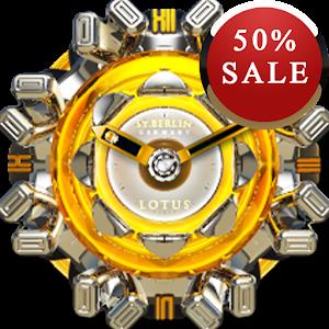 Lotuse Analog Clock Widget