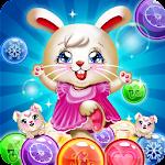 Bunny Bubble Shooter Pop: Magic Match 3 Island Icon