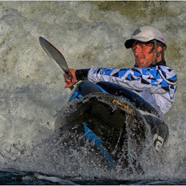 How Cool am I? by Steve Clifford - Sports & Fitness Watersports ( water, paddling, canoe, freestyle, kayaking )
