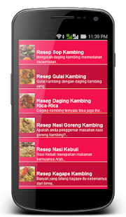 Olahan Daging Kambing - screenshot