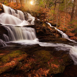 Garwin Falls by Ravi Nori - Landscapes Waterscapes ( waterfalls )
