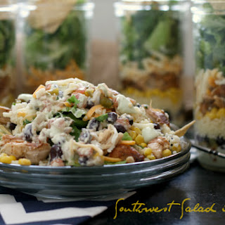 Southwest Salad in a Jar