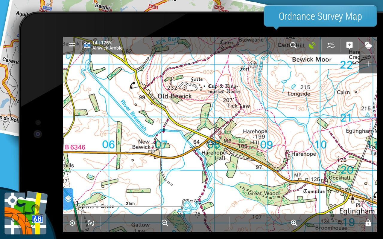 Locus Map Pro - Outdoor GPS navigation and maps Screenshot 9