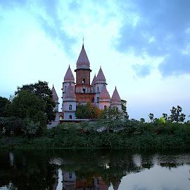 Hangsheswari Temple, Tribeni by Pinaki Pal - Buildings & Architecture Places of Worship ( temple, wide angle, india, architecture, nikon, tamron, worship, photography )