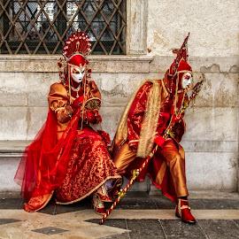 Carnival in Venice by Rado Krasnik - People Street & Candids ( carnival, venice, holidays, mask, travel )