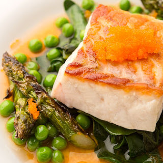 Seared Fish with Spring Vegetables