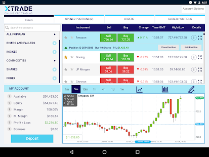 Free Download Xtrade - Online CFD Trading APK for Samsung
