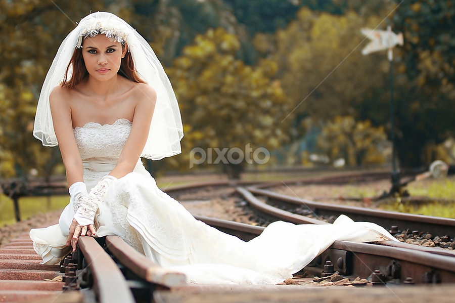 Lonesome Bride by Piko Prakoso - Wedding Bride