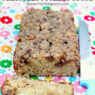 Pineapple Praline Bread