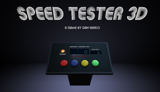 Speed Tester 3D - screenshot