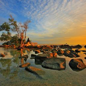 Morning at Nongsa by Alit  Apriyana - Landscapes Travel