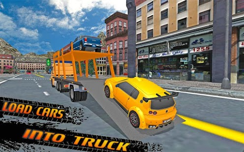 Offroad Car Transport Trailer - screenshot