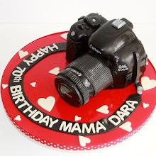 Digital Camera Cake