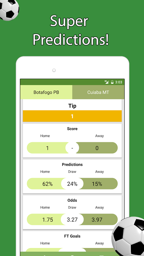 Super Betting Tips Screenshot 2