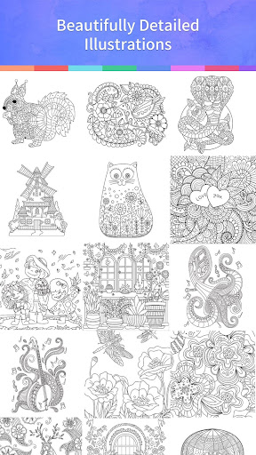 Coloring Book Adults & Kids For PC