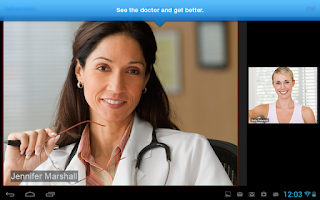 Screenshot of Online Care Anywhere