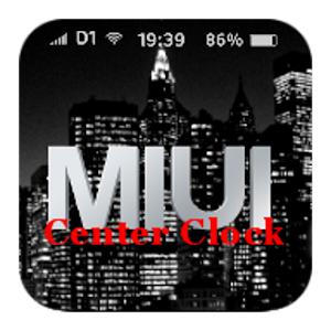 MIUI Center Clock (unofficial) For PC (Windows & MAC)