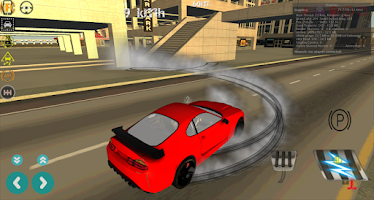 Screenshot of Airport Taxi Parking Drift 3D