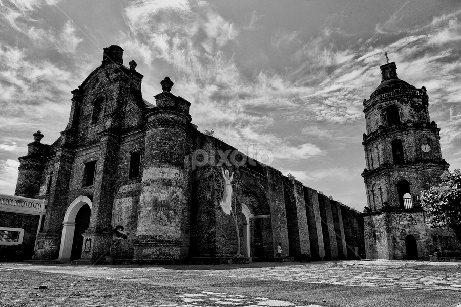 Ancient Church by Charliemagne Unggay - Buildings & Architecture Places of Worship ( pwcbuilding )