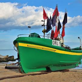 ORL 9 by Tomasz Budziak - Transportation Boats ( poland, boats, transportation )