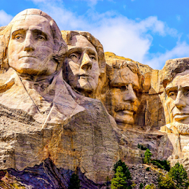 Mount Rushmore by Travis Pambu - Buildings & Architecture Statues & Monuments ( north dakota, usa, august 2012,  )